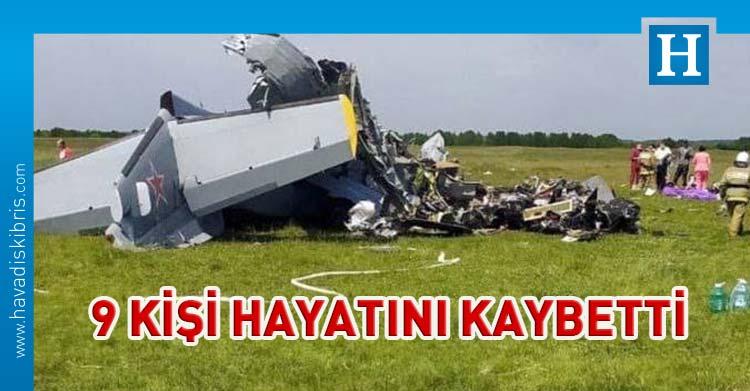 Kemerovo'da Uçak kaza