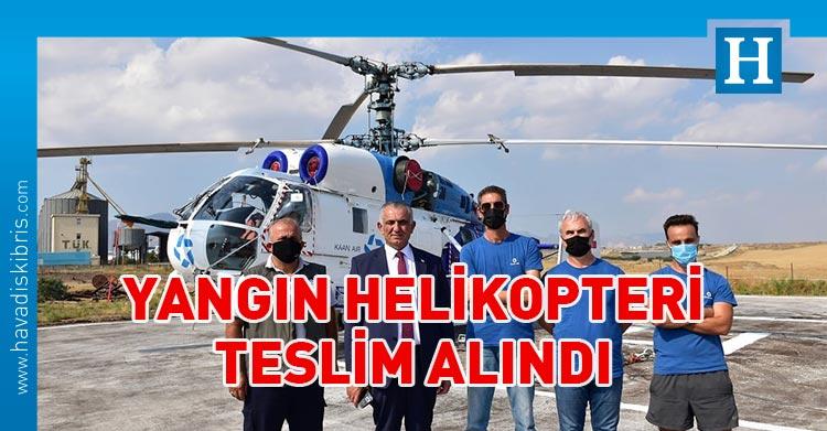 yangın helikopteri kktc