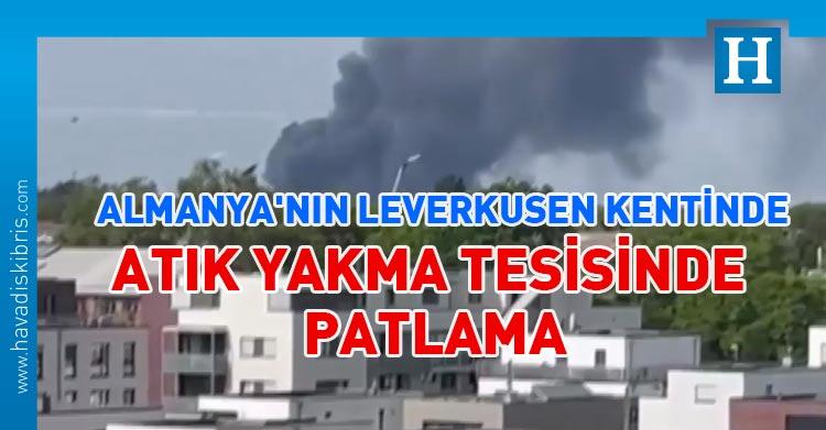 Almanya'nın Leverkusen kentinde patlama