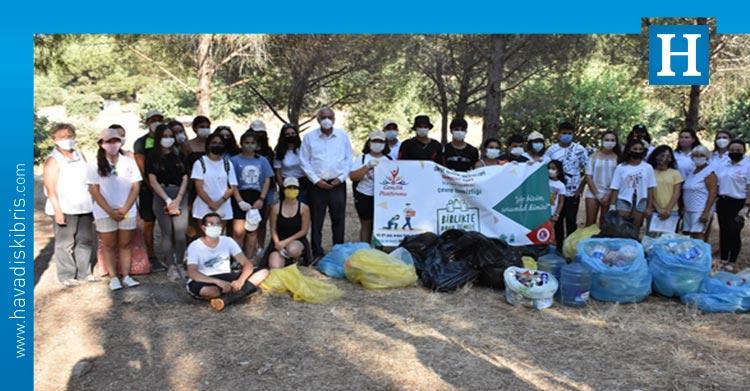 Girne Belediyesi Gençlik Platformu Çevre Etkinliği