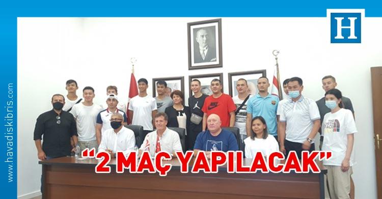 Kırgızistan Basketbol Milli Takımı KKTC'de