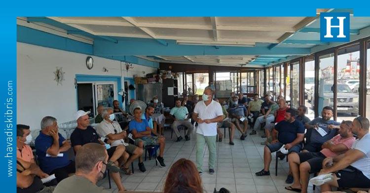 balıkçılık ile ilgili bilgilendirme toplantısı