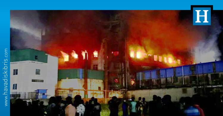 Bangladeş'te yangın