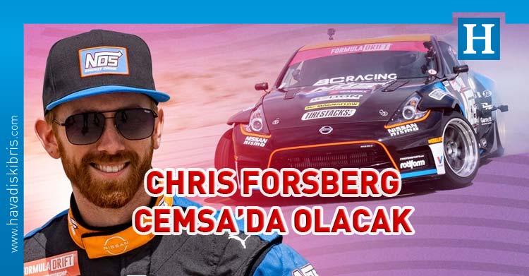 formula drift şampiyonu chris forsberg kktc