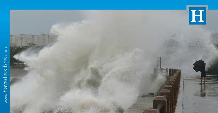 çin tayfun uyarısı