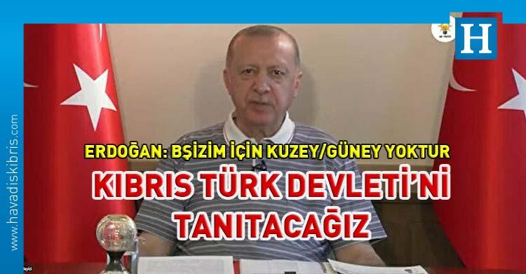 Erdoğan Kıbrıs türk devleti