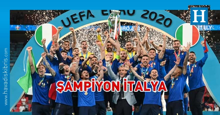 Euro 2020 İtalya şampiyon