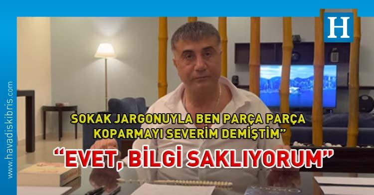 Anonymous yazdı, Sedat Peker yanıt verdi