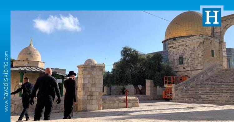 Fanatik Yahudiler mescidi aksa saldırı