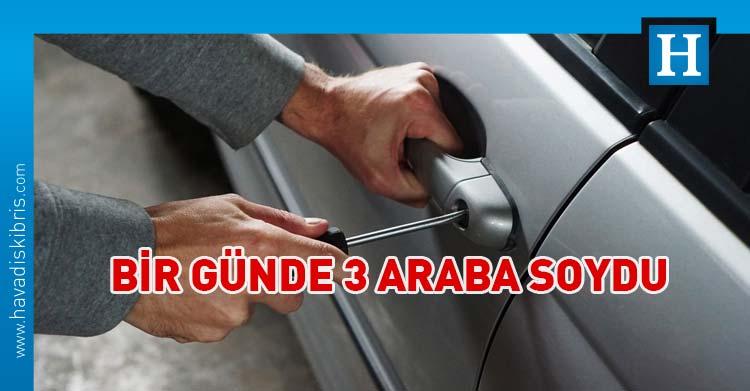 güzelyurt araba hırsızlık