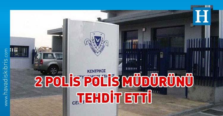 Baf'ta polis tehdit
