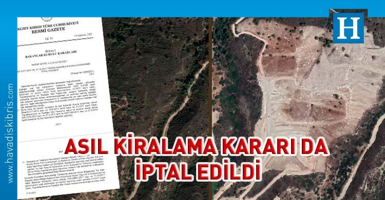 güven yapı'ya girne'de arazi kiralama kararı iptal edildi