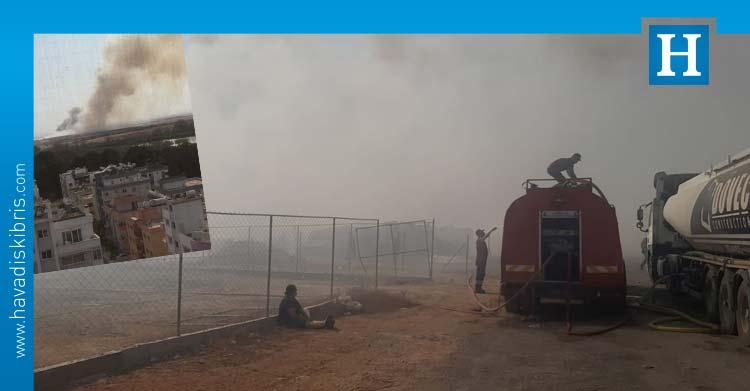 Mağusa'da yangın