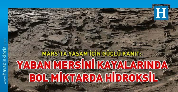 Mars'ta yaşamın var olabileceğine dair güçlü kanıtlar bulundu: Yaban mersini kayaları bol miktarda hidroksil içeriyor