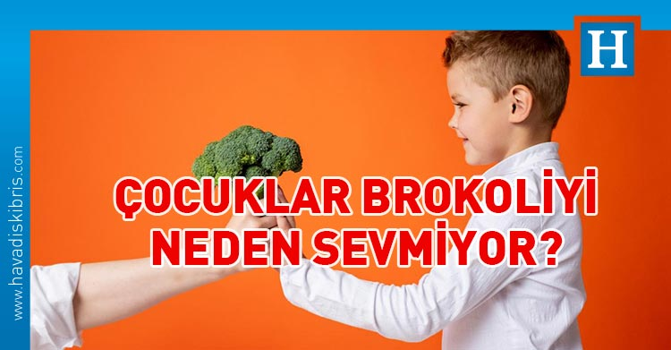 çocukların brokoliyi neden sevmediği