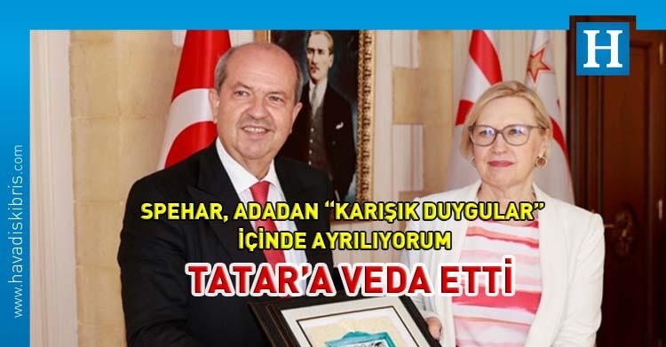 elizabeth spehar Ersin Tatar görüşmesi