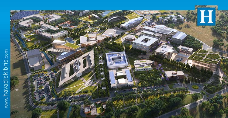 UKÜ kampüs master plan